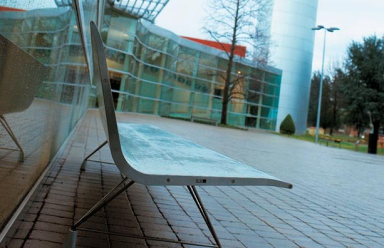 Mobiliario para exteriores de empresas sellex - Oficinas bosch madrid ...