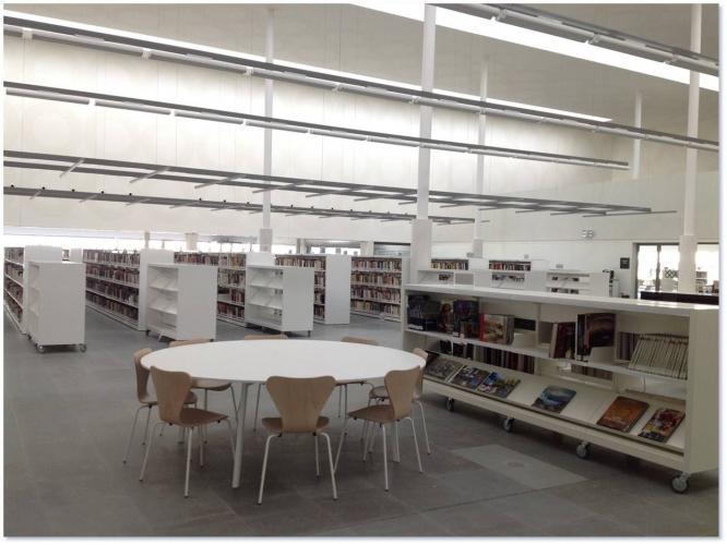 Slam galer a de instalaciones sellex - Biblioteca publica segovia ...