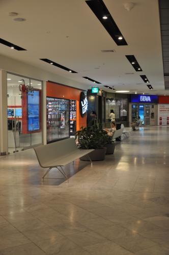 Mobiliario para zonas de espera de centros comerciales for Centros comerciales en santiago de chile