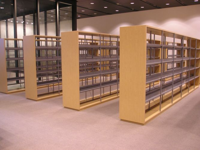 Supreme Court, Singapore. JAKIN shelving system.