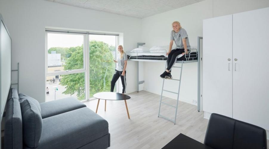 Dana Cup Academy , Hjorring. LA LITERAL folding bunkbeds