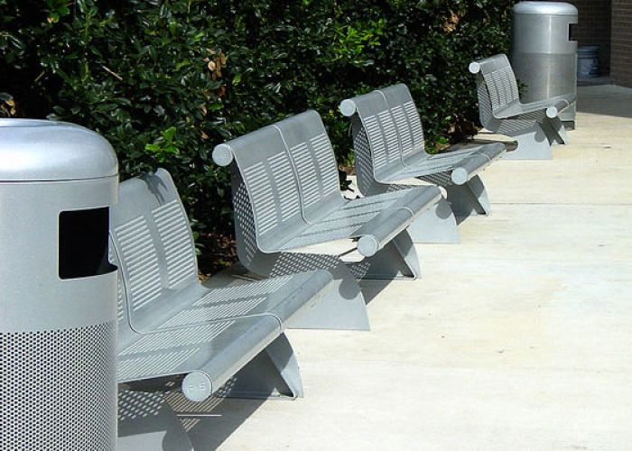 College Station, Texas (USA). VACANTE Bench