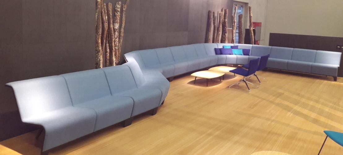 Salon Orgatec. BACK Modular Seating