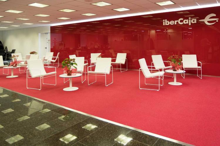 IBERCAJA headquarters. Zaragoza (Spain). HAMMOK Lounge Chair