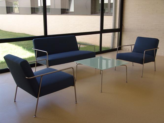 Mobiliario para zonas de espera de oficina sellex - Oficinas ibercaja burgos ...