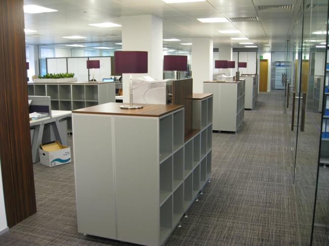 Stewarts Law in Leeds (UK). KUBRIK bookcases.