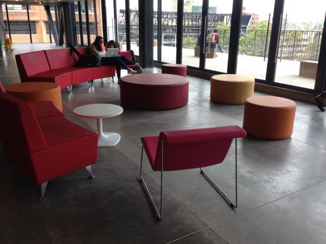 Faculty of Arts, Pontificia Javeriana University, Bogota (Colombia). BACK Lounge chair