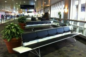 Greensboro Airport, North Caroline (USA). AERO bench