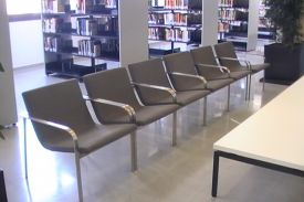 Public Library in Premiá, Barcelone (Spain). STILL lounge chair.