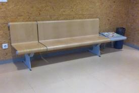 'Plaza del Ejército' Healthcare center, Valladolid (Spain). VACANTE bench