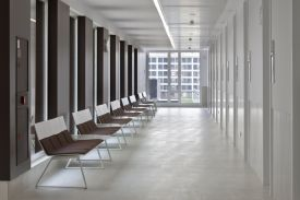 Buztintxuri Healthcare Center (Spain). BILDU modular seating