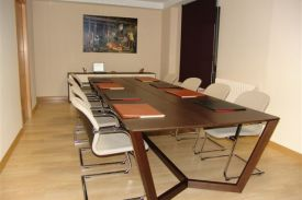 Veterinary College in Palencia (Spain). LORCA table.