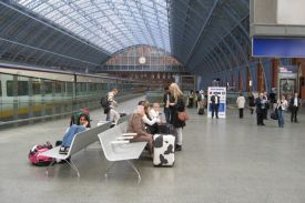 Bahnhof St. Pancras, London (UK), AERO Bank