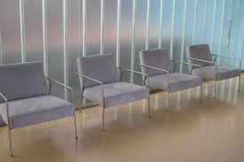 Campo Grande Hospital, Valladolid (Spain). VALERI lounge chair.
