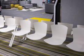 DELTA Hospital (CHIREC Hospital Group), Auderghem (Belgium. SLAM Chairs and Beam Seatings