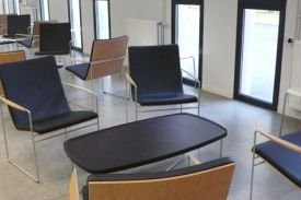 Eiffel Conference Room, Bordeaux, (France). HAMMOK chair.