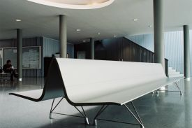 University of Lleida (Spain). AERO aluminium bench.