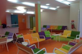 Curie Institute in Paris (France). SUMA Modular Seating Beam