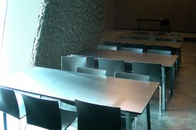 Blau Museum, Barcelone (Spain) FAST folding table
