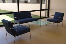 Aspanias Offices, Burgos (Spain). VALERI lounge chair