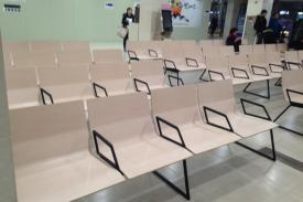 Seul Hospital (Korea). BILDU modular seatings