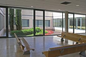 Funeral House in Granollers (Spain). VACANTE Bench