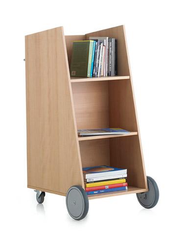Chariot pour livres