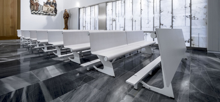 Funeral home benches