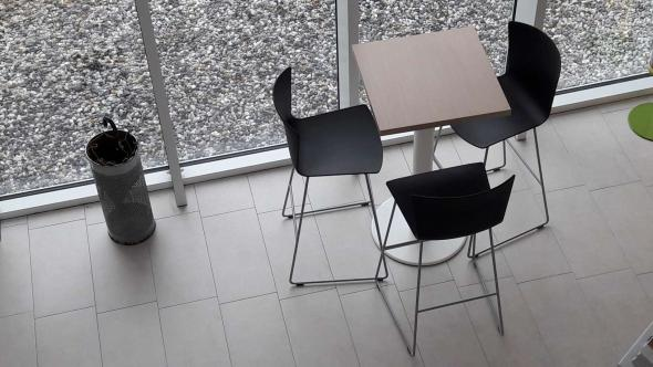 SLAM High Chairs in collaborative spaces