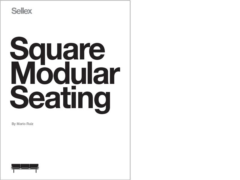 Square Modular Seating catalogue