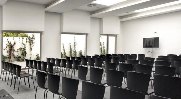 SLAM Chairs in the training/seminar Rooms of Hotels