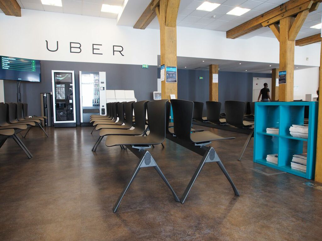 The SLAM Beam in Uber Offices (France)