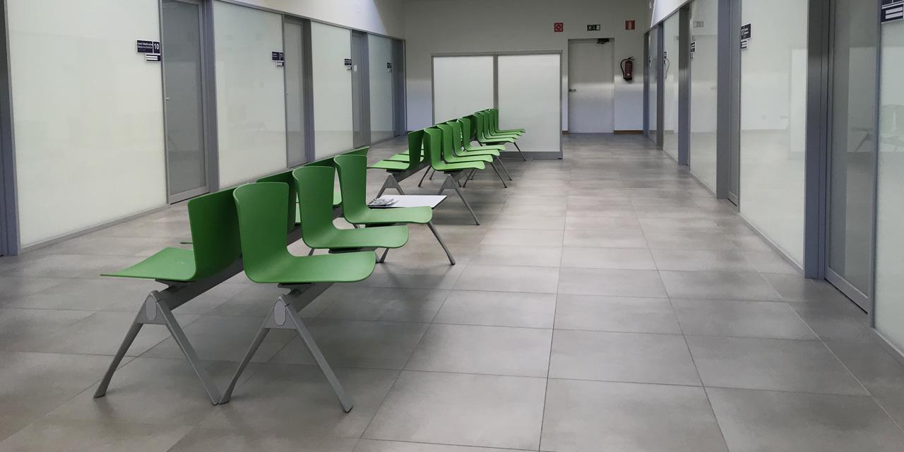 Centro de Saldud Salburua, equipado con el Banco SLAM