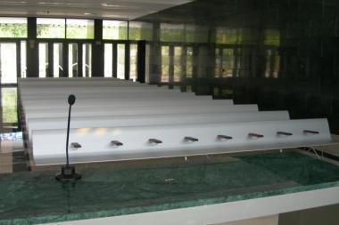 AERO benches as Bench for the Chapel of San Jose's Funeral House in Burgos