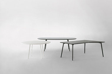 New FLY tables program, designed by Lievore Altherr Molina