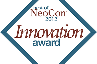 "FAST table has been awarded the "" Best of Neocon - Innovation Award"" at NeoCon Fair in C"
