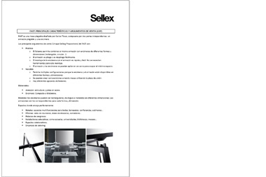 SELLEX Sales tools