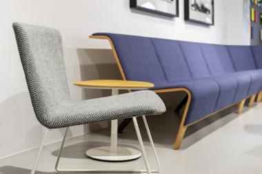 Back Modular Seating en Neocon