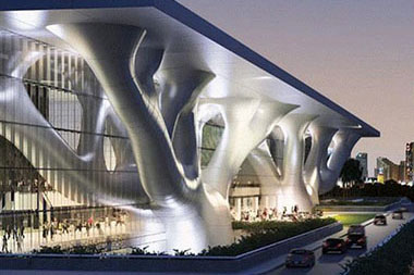 Qatar National Convention Center in Doha shows inclination to AERO bench