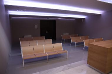 SUMA Modular Seatings at the Chapel of Mengibar's Funeral House