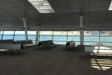 AERO Bench in lounge areas of Sea Terminals