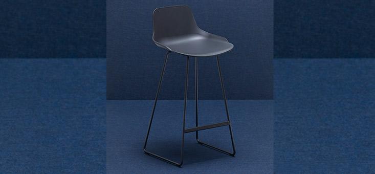 Recycled polypropylene stools