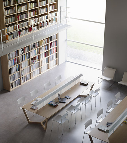 Library with LORCA table
