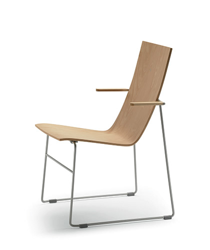 HAMMOK chair with armrests