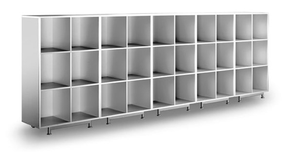 Shelving-unit 2,3,4 and 5 H