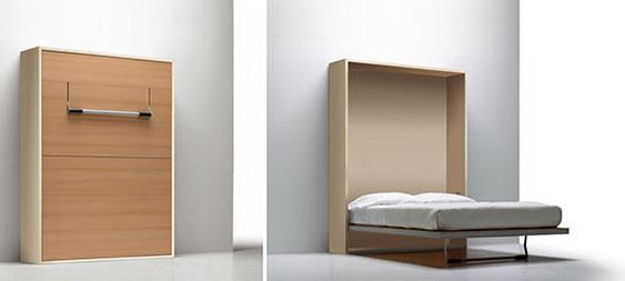 Litera la literal camas y literas plegables sellex - Cama escondida en mueble ...