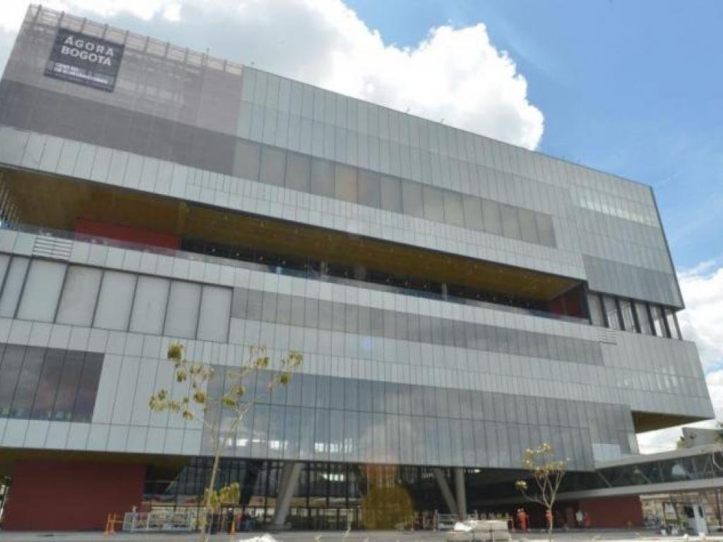 """Ágora International Congress Hall"" in Bogota"