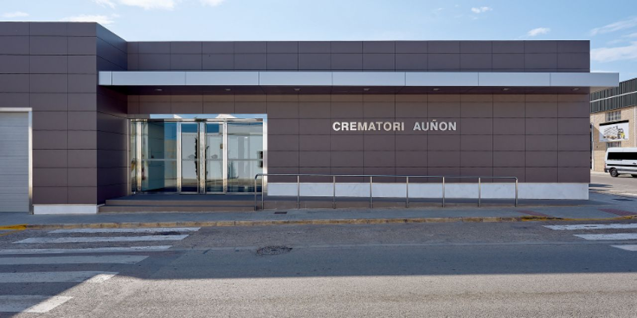 Crematorium Auñon of Meliana, Valencia (Spain)