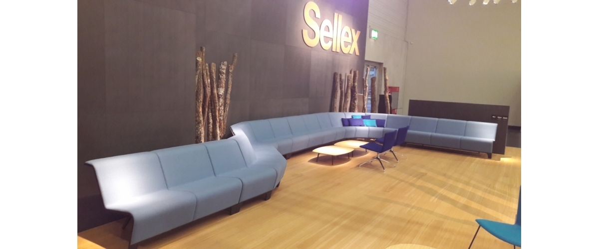 Feria de Orgatec. BACK Modular Seating.