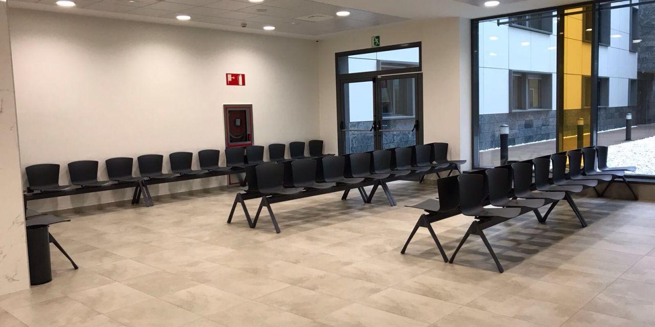 Bancada SLAM en las zonas de espera del Hospital Urduliz